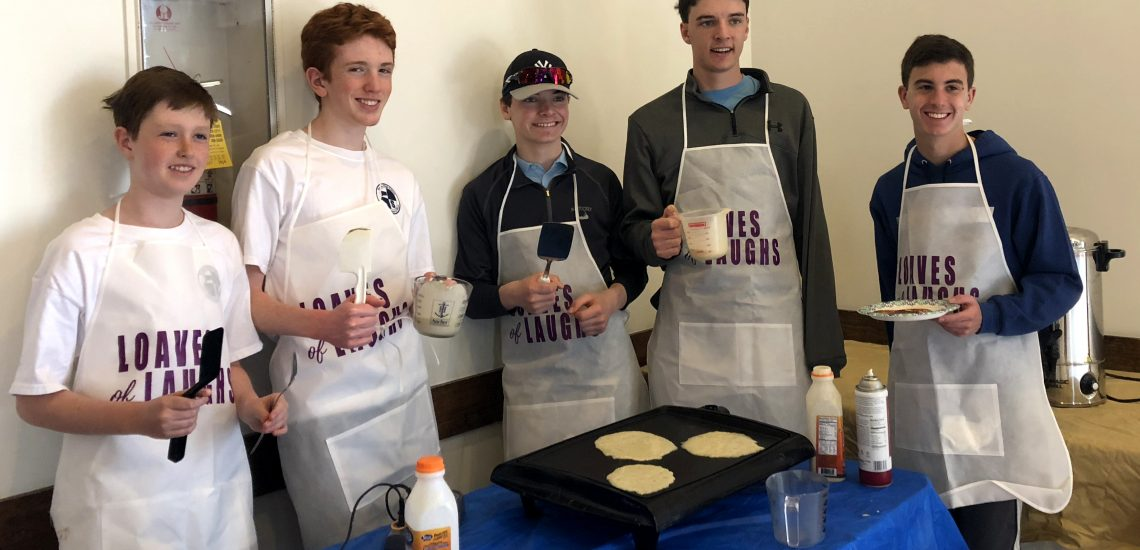 Cooking Around Town – 2019 Circle of Friends Pancake/Waffle Bar and Gillespie Center