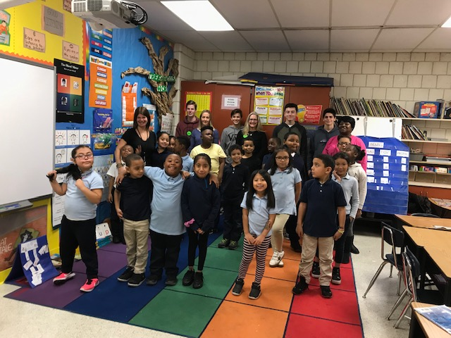 A Visit to the Curiale School at Thanksgiving